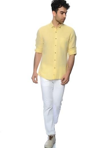 T-Box Gömlek Sarı